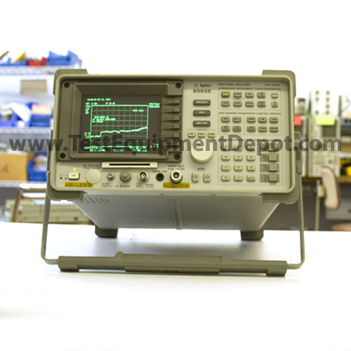 Used Test Equipment : Agilent hp e portable spectrum analyzer khz to
