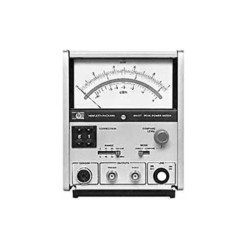 Analog Power Meter : C agilent hp peak power meter analog
