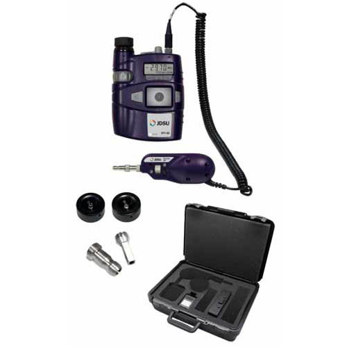 Viavi FIT-S115 Fiber Inspection and Test System Kit, HP3-80-P4, FBP-P5 200/400x Scope, Tips, Case