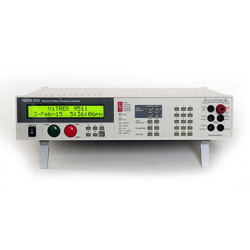 Vitrek 952I Electrical Safety Compliance Analyzer, 6 kV AC/DC/IR/GB/LR with K2R Ground Bond Leads