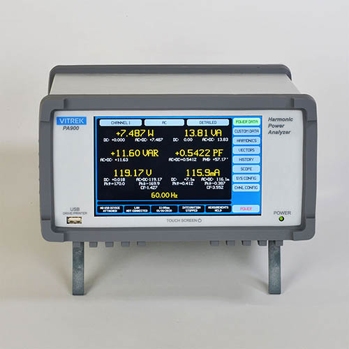 Vitrek PA900 Precision Multi-Channel Power Analyzer Mainframe - 4 Channel Capacity