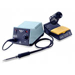 Click here for a larger image of the Weller WES51 Analog Soldering Station; Power Unit, Soldering Pencil, Stand, Sponge