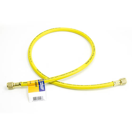 Red 48 Fotronic Corporation 48 Yellow Jacket 21648 Plus II Hose Standard 1//4 Flare Fittings