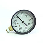 "Click here for larger image of the Yellow Jacket 78031 2 1/2"" 150 psi Fuel Oil Gauge"