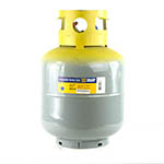 Click here for larger image of the Yellow Jacket 95013 50 Lb. 400 Psi Cylinder Dot 400 w/ Float Switch